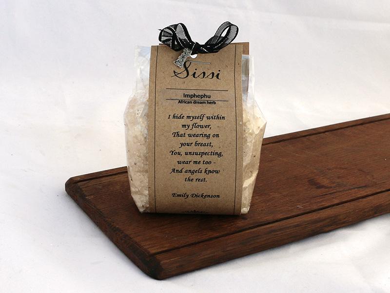 Bath Salts with poem 200g